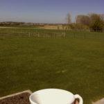 Een kopje thee in Eyndevelde in de Vlaamse Ardennen vakantie