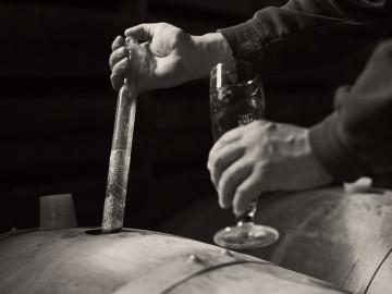 brouwerij van het dorp in de omgeving van Eyndevelde Vlaamse Ardennen
